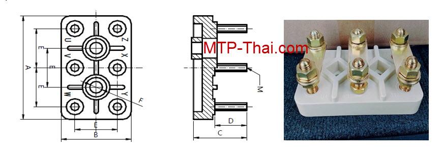 เทอร์มินอลมอเตอร์,เทอร์มินอลขั้วต่อมอเตอร์,ขายเทอร์มินอล,ขายขั้วต่อมอเตอร์-MTP-Thai